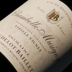 Hudelot Baillet Chambolle Musigny Vieilles Vignes