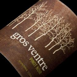 Gros Ventre Pinot Noir Sonoma Coast