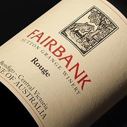 Sutton Grange Winery Fairbank Rouge 2012