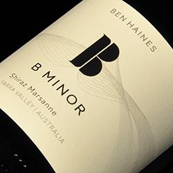 Ben Haines B Minor Shiraz Marsanne